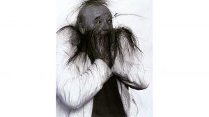 Arnulf Rainer, Ulrich Wildgruber, 1997/98, photo: Christina Vollmert © Theaterwissenschaftliche Sammlung, Universität zu Köln